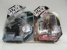 STAR WARS PRE-CYBORG GRIEVOUS & McQUARRIE CONCEPT DARTH VADER ACTION FIGURES