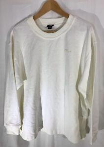 Genuine Men JAG Australia Cotton Sweatshirt  Jumper Shirt Size UK Medium White