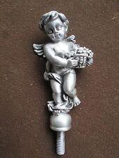 cherub, winged angel, motorcycle ,ratrod,burnout,hotrod,car/fender hood ornament