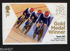 2012 SG3346 1st GB Olympic Gold Medal Winners Hindes Hoy Kenny Cycling