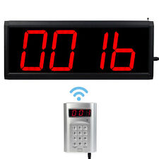 Wireless Call Number System Restaurant Paging Queuing System  transmitter+host!!