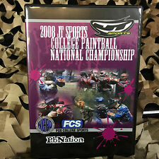 New 2008 Jt Sports College Paintball National Championship Dvd
