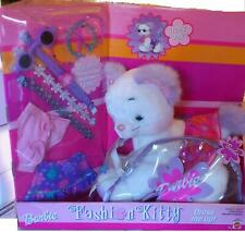 Barbie Fashion Kitty Dress Me Up Plush With Dress