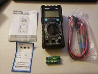 Handheld LCD Digital Multimeter Auto Range Tester with flashlight MESTEK DM91