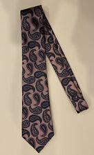 "Brand New ERMENEGILDO ZEGNA Men's Classic Paisley Silk Tie (3 1/4"")"
