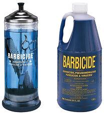 Barbicide disinfectant Jar, Solution 1.89L For Salon Spas Medical Athletic Tools