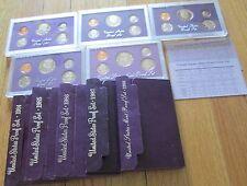 1984 1985 1986 1987 1988 Proof Set 84 85 86 87 88 Proof Set 5 Sets Bargain price