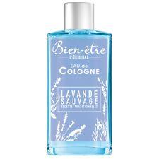 lot 3 Eau de Cologne lavande sauvage Haute-Provence BIEN-ETRE  250 ml