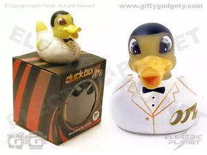 Duck Bond LED Colour-Changing Bath Toy, Rubber Duck