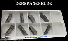 8 Wendeplatten LCMF 300808-0800-FT ,883 SECO Stechdrehen