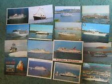 Lot de 16 cartes postales de CAR FERRIES divers