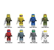 Halo Spartan Solider The Game OF Fortnite Figures Dolls Building Blocks Toy