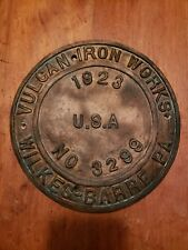 Vulcan iron Works Locomotive Builders Plate Engine Remake works 1923