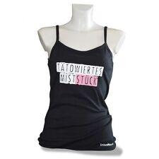 Ärmellose Damen-T-Shirts mit Motiv aus Baumwolle