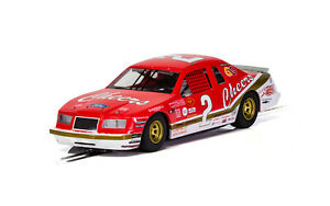 Ford Thunderbird Red/White/Gold Scalextric Car C4067