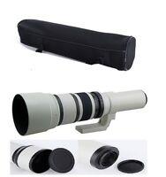 500mm f/6.3 Telephoto Lens For Canon 1300D 1200D 550D 650D 750D 760D 1300D DSLR