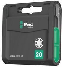 Wera 05057770001 Bit-Box 20 TX 20 x 25 mm 20-teilig TORX 20