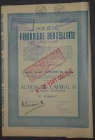 Societe Financiere Bruxelloise Societe Anonyme 1928
