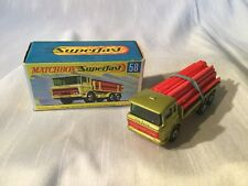 Matchbox Lesney Superfast No. 58 DAF Girder Truck Boxed