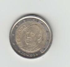 Spanien - 2 Euro 2001 - König Juan Carlos I.- sehr schön - Bestell.-Nr. 2