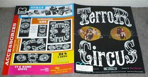 TERROR CIRCUS original 1973 movie pressbook BARN OF THE NAKED DEAD/ANDREW PRINE