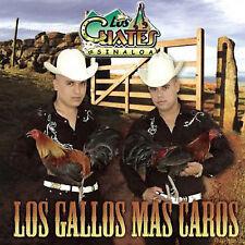 FREE US SHIP. on ANY 2 CDs! NEW CD Los Cuates de Sinaloa: Los Gallos Más Caros