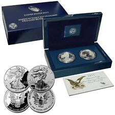 2012 S 75th Anniv. AMERICAN EAGLE SAN FRANCISCO TWO COIN PROOF SET in bos w/ VOA