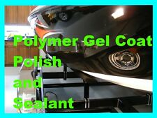 BOAT gelcoat POLISH & SEALANT (Combo) Pro Polish and POLYMER GEL COAT SEALANT