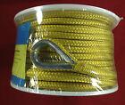 Anchor Line 38 X 100 Braided Nylon Yellow Seachoice 42151