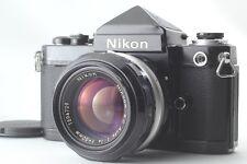 【EXC+++++】 Nikon F2 Eyelevel DE-1 w/ Nikkor S.C Auto 50mm 1.4 From JAPAN #1054