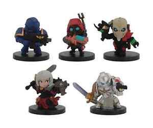 Bandai Warhammer 40K Chibi Series 1 Set - Space Marine Battle Sister Miniatures