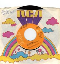 PRESLEY, Elvis  (I'm Leavin'  //bw//  Heart Of Rome)  RCA 47-9998