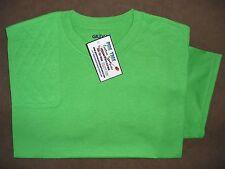 MEDIUM RH Trap/Skeet Pad IRISH GREEN 50/50 Dryblend Shooting T-Shirt by Gildan