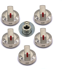Maple Bay 5-Pack DG64-00473A Upgraded Samsung Oven Knob Replacement parts, Range