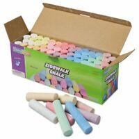 Sidewalk Chalk, Jumbo Stick, 12 Assorted Colors, 52 Pieces/Case (CKC1752)