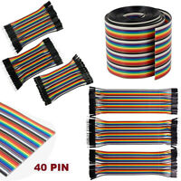 Dupont Cable Breadboard Jumper Wire Raspberry Pi Arduino DIY Ribbon Line Male Fe