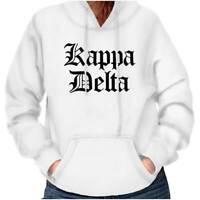 Kappa Delta Ritual Official Sorority Greek Womens Hooded Pullover Sweatshirt