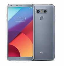 LG G6 H870  Sim Free & Unlocked Smartphone  32GB - Platinum Silver