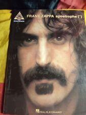 Frank Zappa: Apostrophe (') - Sheet Music Songbook