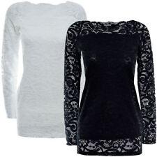 Texturierte Normalgröße Damen-T-Shirts keine Mehrstückpackung