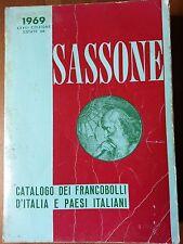 SASSONE CATALOGO DEI FRANCOBOLLI D'ITALIA E PAESI ITALIANI 1969 CATALOGUE