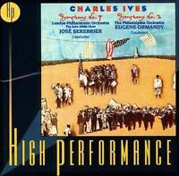 Ives: Symphony No. 4/Symphony No. 2; 1999 CD, Serebrier, Ormandy, London Philhar