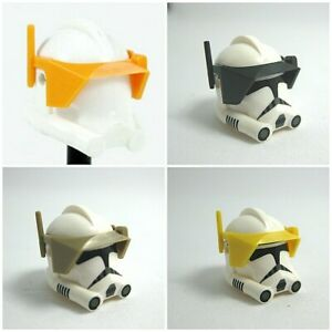 Clone Army Customs DETAIL VISOR for Minifigures -Star Wars -Pick Color! P2, OR