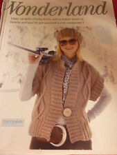 Knitting Pattern Lady's  Gilet & Ber et In Sirdar Click Chunky-Sizes 32-42in