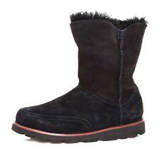 UGG Australia Shanleigh Suede Boot Black Women Sz 5.5 4186 *