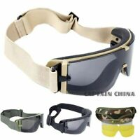 Airsoft Protective Glasses Military Paintball Tactical Goggles Military Eyewear