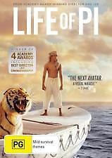 LIFE OF PI (DVD) REGION-4, NEW AND SEALED, FREE SHIPPING WITHIN AUSTRALIA