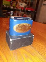 The Citizens National Bank Vintage Metal Piggy Bank, Ohio, with Box