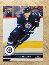 17-18 UD Series 1 RARE Promo Team Set JETS #JET-7 JACOB TROUBA