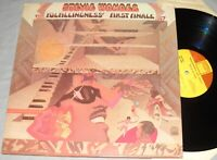 STEVIE WONDER Fulfillingness'First Finale VINYL LP record 1st ed.1974 album VG++